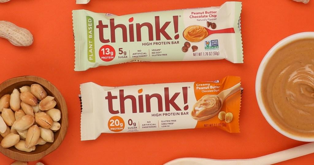 three different think thin bars