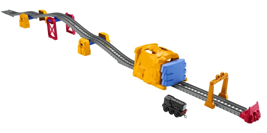 thomas the train diesel tunnel toy
