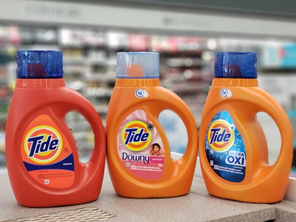 tide liquid detergents