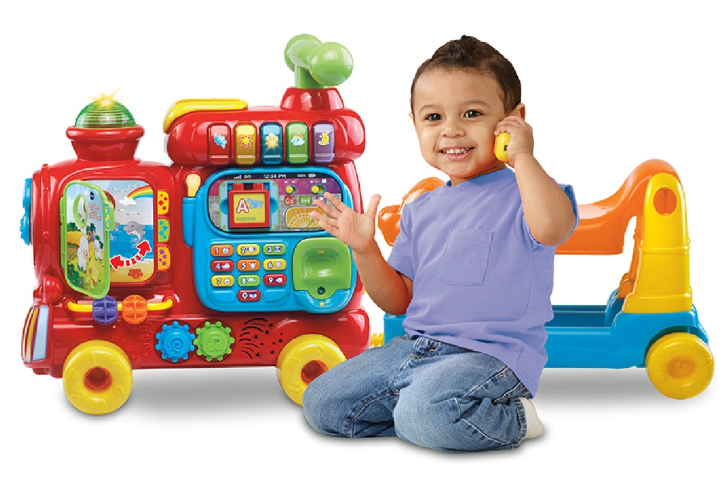vtech train with baby