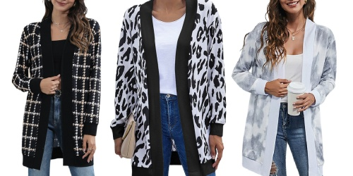 Women's Cardigans Only $11.99 on Zulily (Regularly $24+)