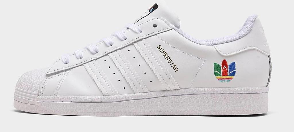 womens adidas superstar shoe white