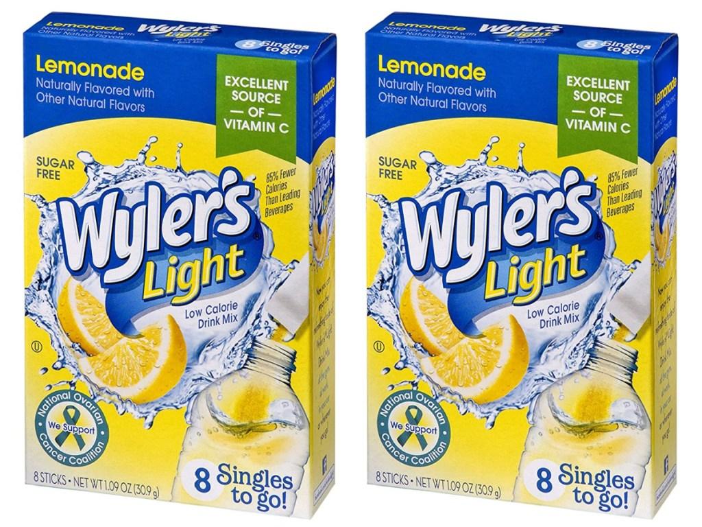 wyler's light lemonade packets