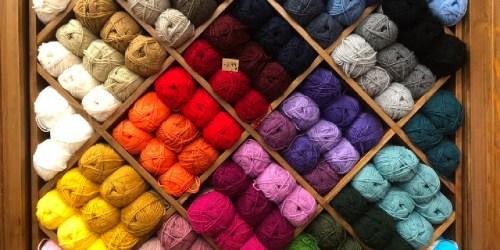 Up to 85% Off Knitting & Crocheting Yarn