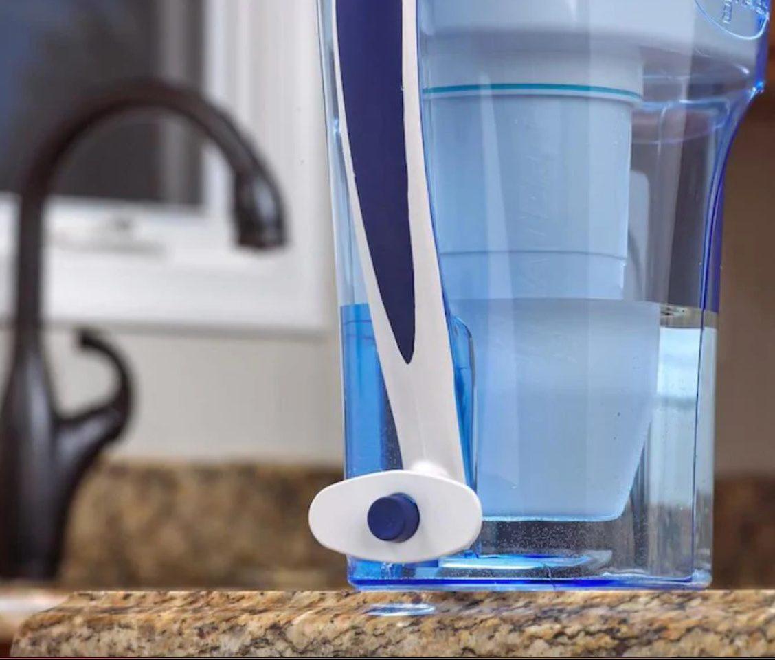 zerowater pitcher w: spout