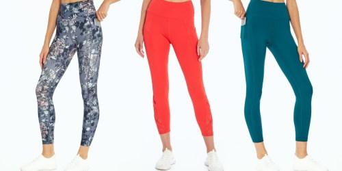 Women's Leggings w/ Pockets from $12.48 on Zulily (Regularly $40+) | Reebok, Marika, & More