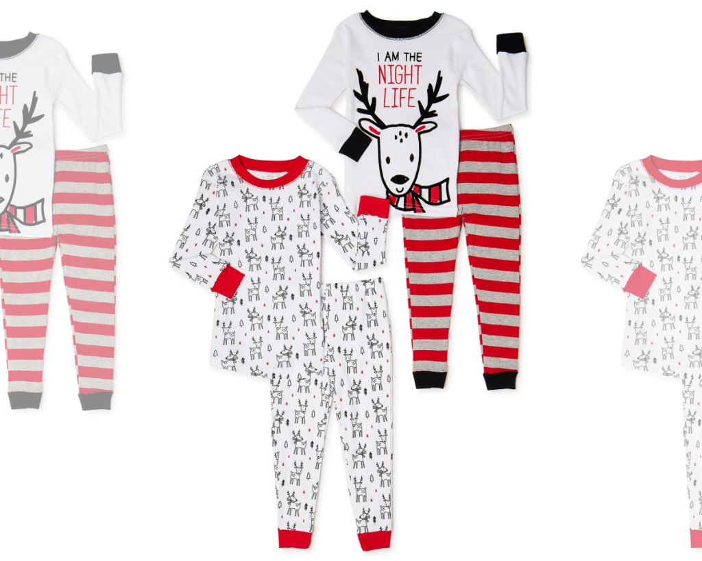 kids 4-piece pajama set