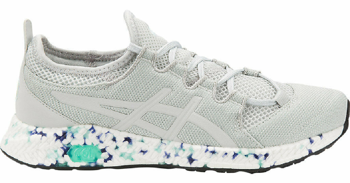 grey and colored pair of ASICS Women's HyperGEL-SAI Shoes