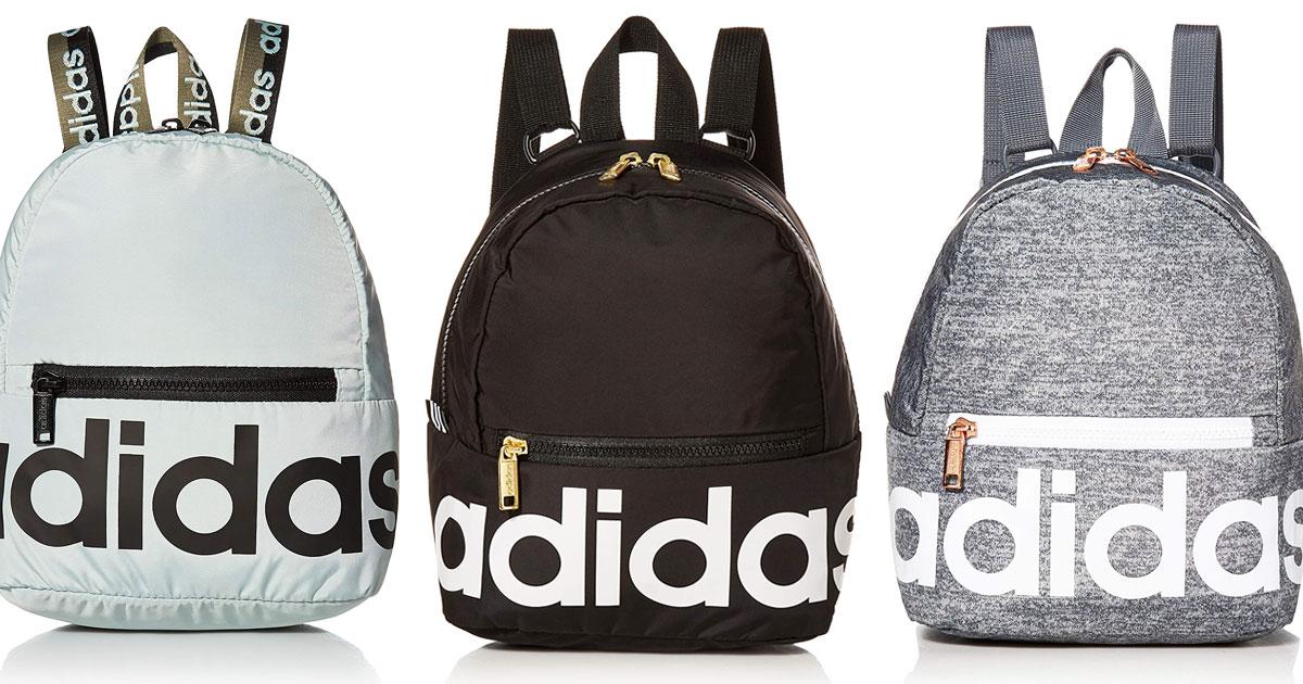 Adidas Mini Backpacks Only $15 on Amazon (Regularly $30) • Hip2Save