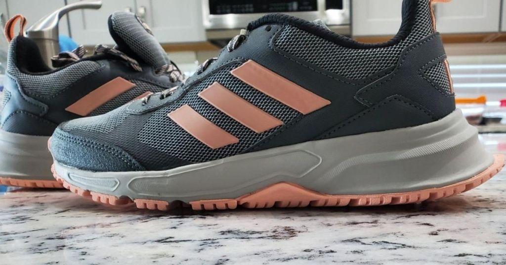 pair of Adidas Rockadia Trail 3 on marble