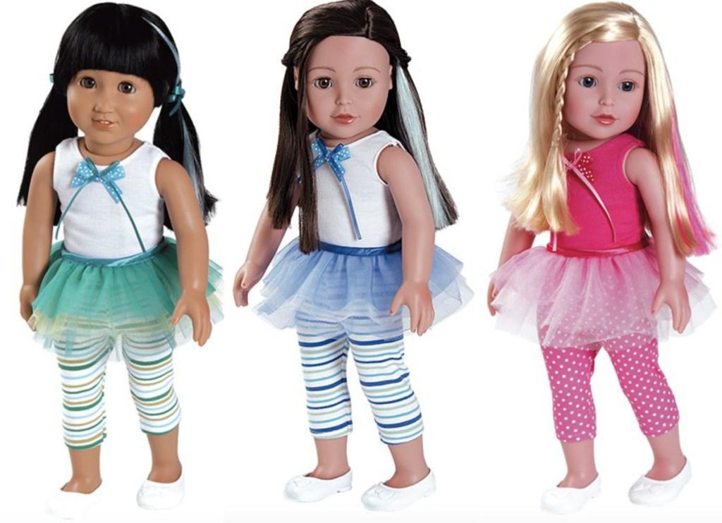 """2 18"""" adora dolls"""