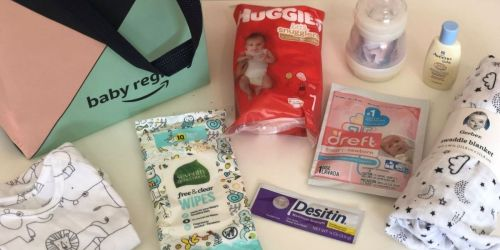 Are You Expecting? Request a FREE Amazon Baby Welcome Box w/ $35 Worth of Freebies
