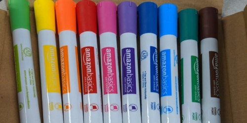 AmazonBasics Dry Erase Markers 12-Pack Only $6.57 Shipped