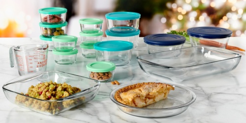 Anchor Hocking Food Storage Sets from $22.49 on JCPenney.com & Walmart.com (Regularly $60)
