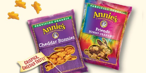 Annie's Organic Bunny Snacks 36-Count Just $10 Shipped on Amazon + Save on Mac & Cheese
