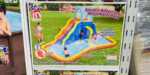 Inflatable Mega Water Park Only $199.98 at Sam's Club + More Outdoor Water Fun