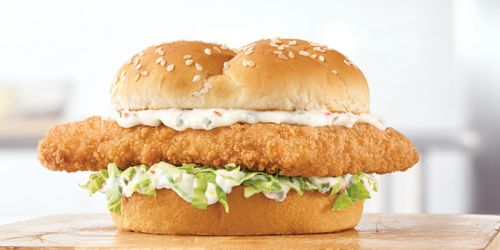 Arby's NEW Crispy Fish Sandwich Just $1