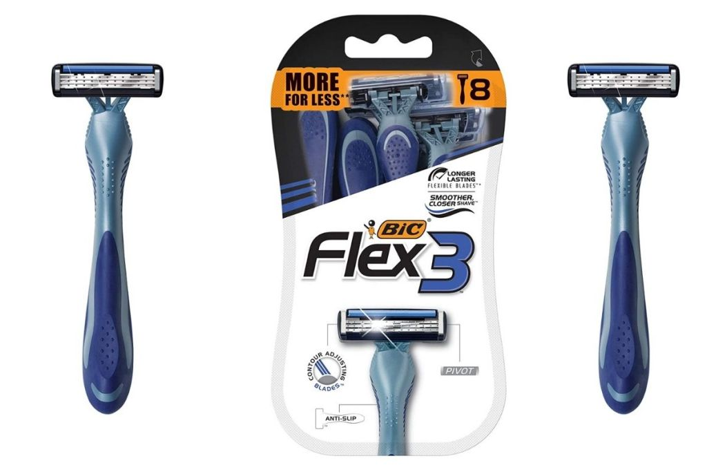 BIC Men's Flex 3 Disposable Razors w packaging
