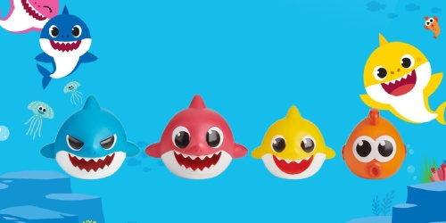 WowWee Baby Shark Bath Toys 4-Pack Only $5.59 on Amazon