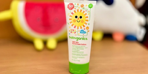 Babyganics Sunscreen 2-Pack Only $12 Shipped on Amazon (Regularly $23)