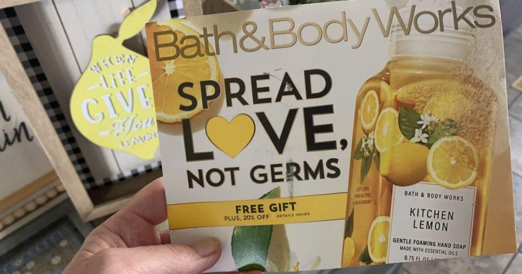 Bath & Body works February 2021 Mailer