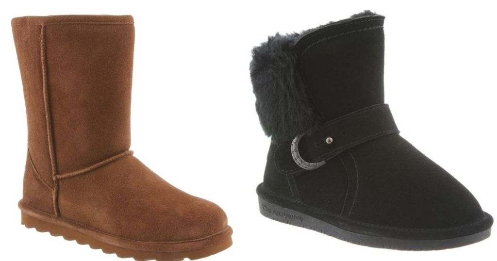 2 pair Bearpaw Boots