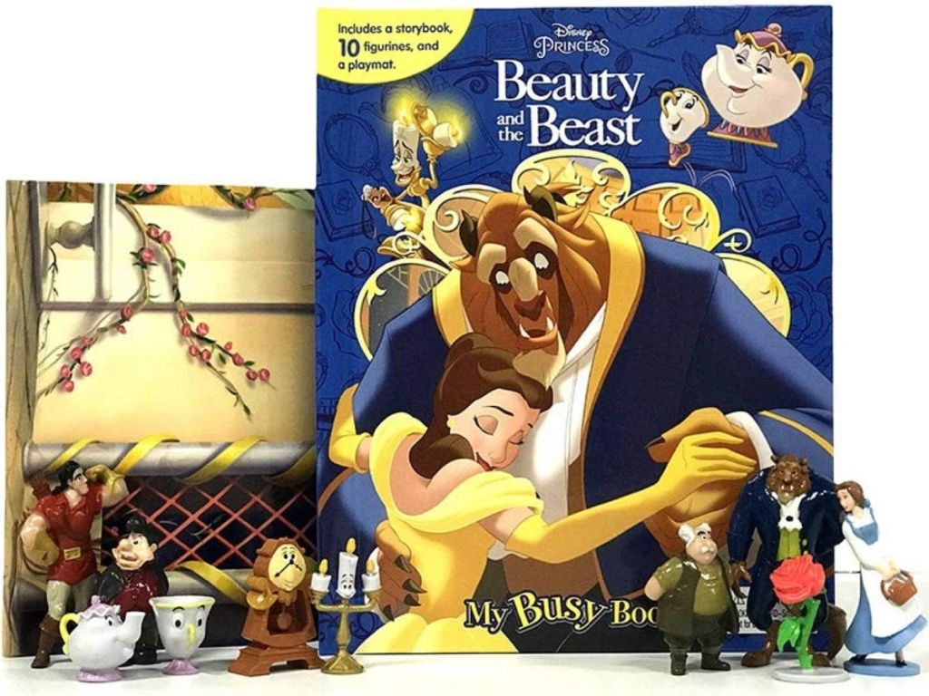 Beauty and the Beast Busy Book