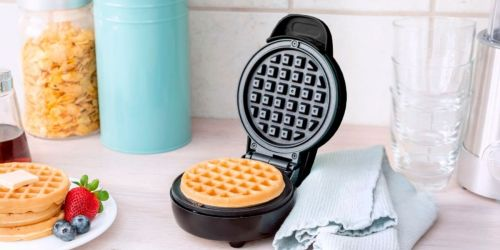 Bella Mini Waffle Maker Only $7.99 on BestBuy.com (Regularly $13)