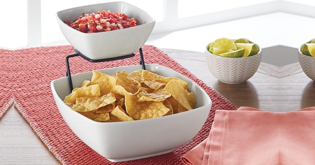 Better Homes & Gardens 3-Piece Chip Dip Set