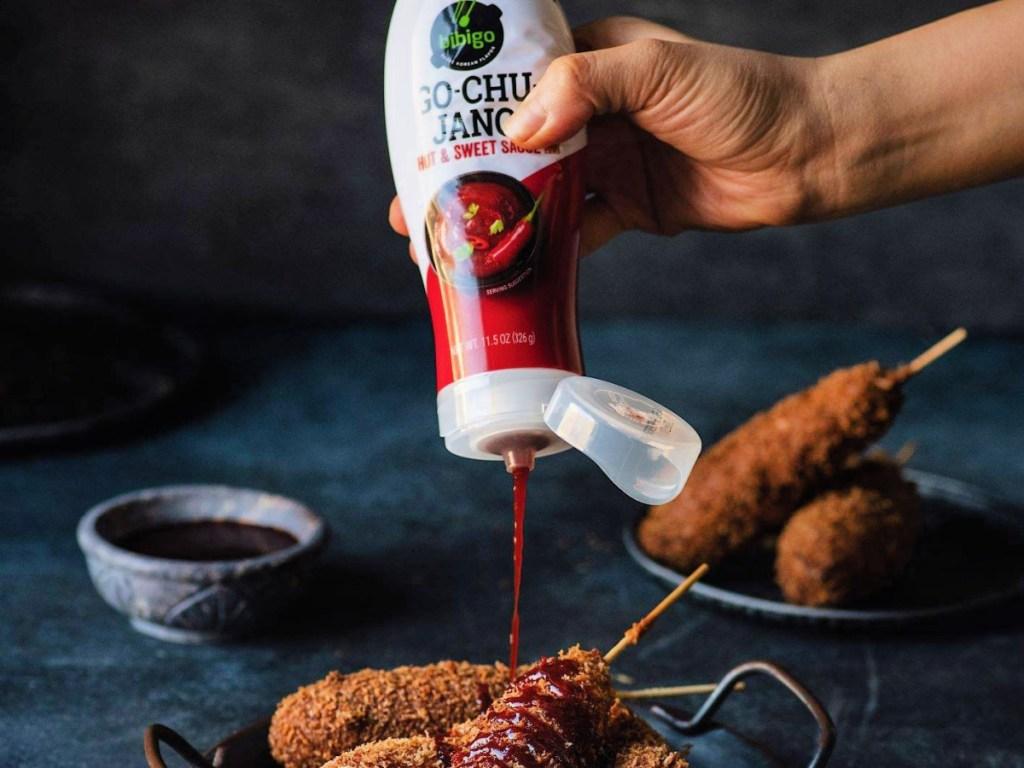 Bibigo Gochujang Hot & Sweet Sauce 11.5-Ounce Bottle