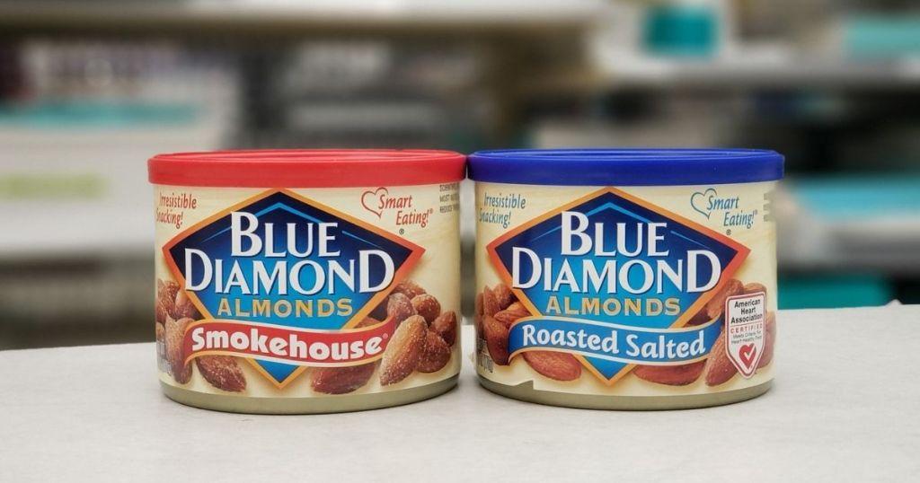 2 Blue Diamond Almonds