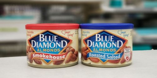 Blue Diamond Almonds Cans Just $2 Each at Walgreens + Free Store Pickup