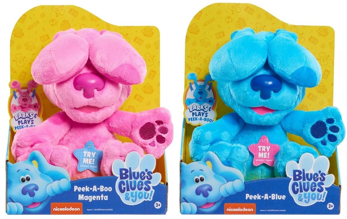 2 Blue's Clues PeekaBlue Plush