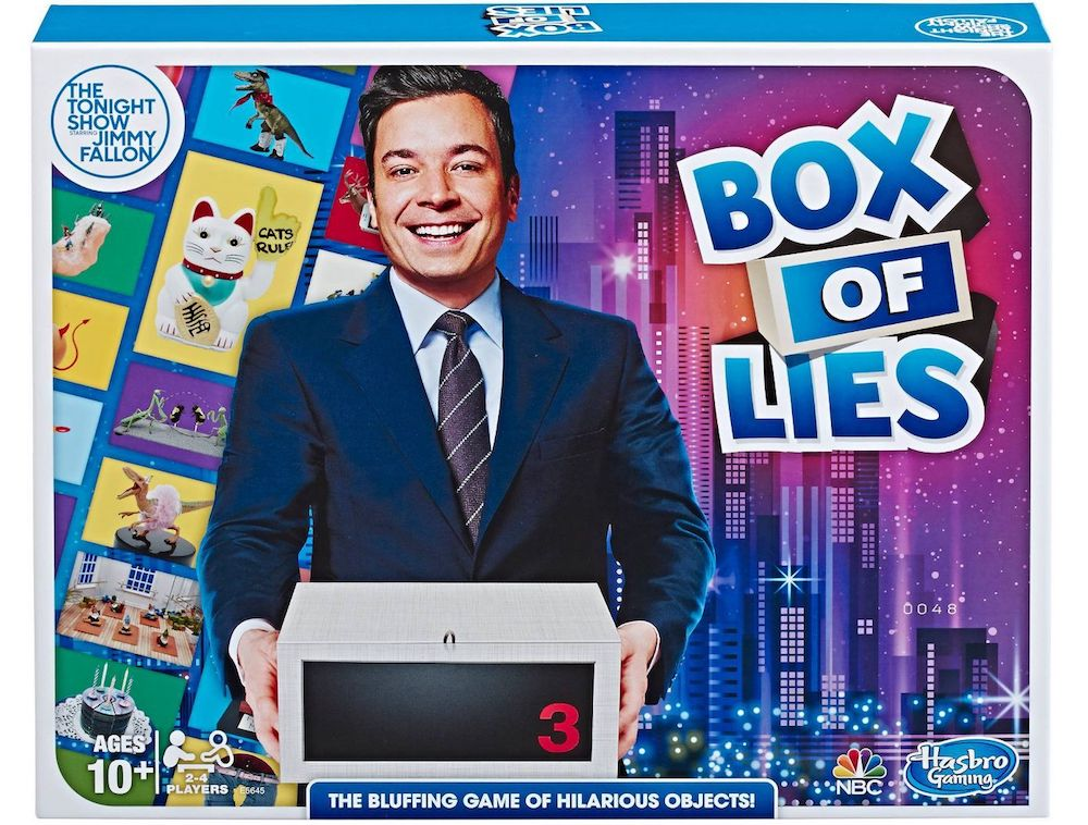 Box of Lies Game Box
