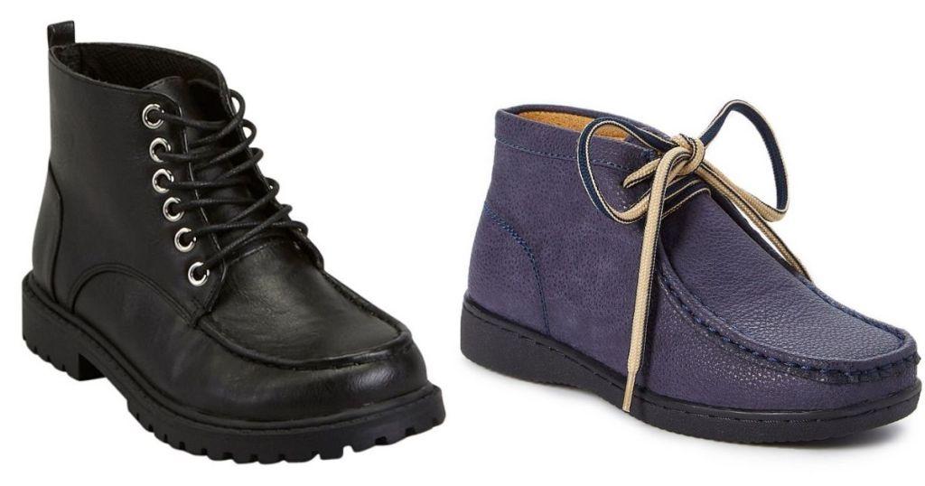 2 pair Boys Chukka Boots