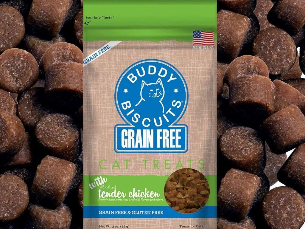 Buddy Biscuits Grain Free Cat Treats