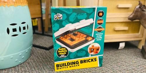 Save 40% Off Building Bricks Waffle Maker at Hobby Lobby