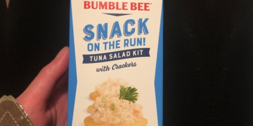 Bumble Bee Tuna Salad Snack Kits 12-Count Just $10 Shipped on Amazon   Only 83¢ Each
