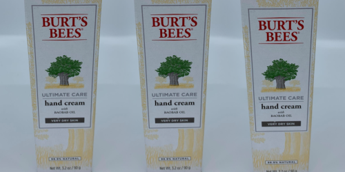 Burt's Bees Ultimate Care Hand Cream Just $4.63 Shipped on Amazon (Regularly $13)