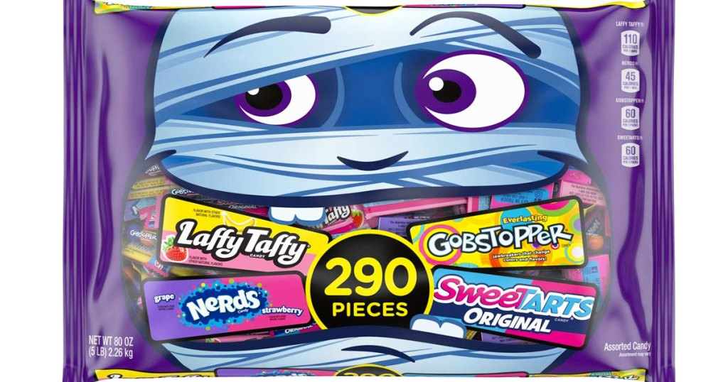 SweeTARTS, Gobstopper & Laffy Taffy 290-Piece Variety Bag