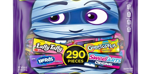 SweeTARTS, Gobstopper & Laffy Taffy 290-Piece Bag Only $8 on Amazon (Regularly $15)