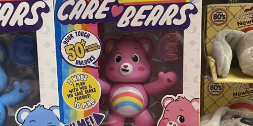 Care Bears Interactive Figure Only $5 on Amazon (Regularly $15) | Sings, Talks & More
