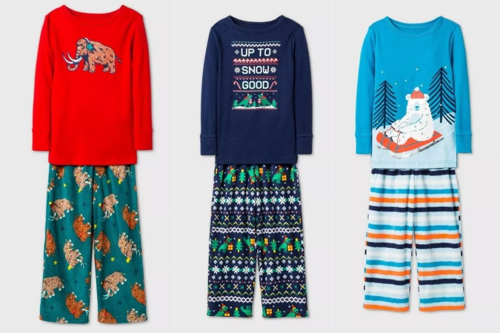 2 Cat & Jack 2pc Pajama Sets