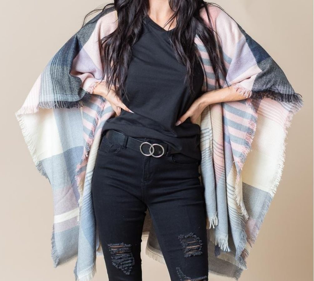 Cents of Style Plaid Wrap