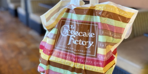 $10 Off $50 The Cheesecake Factory Pickup or Delivery Order