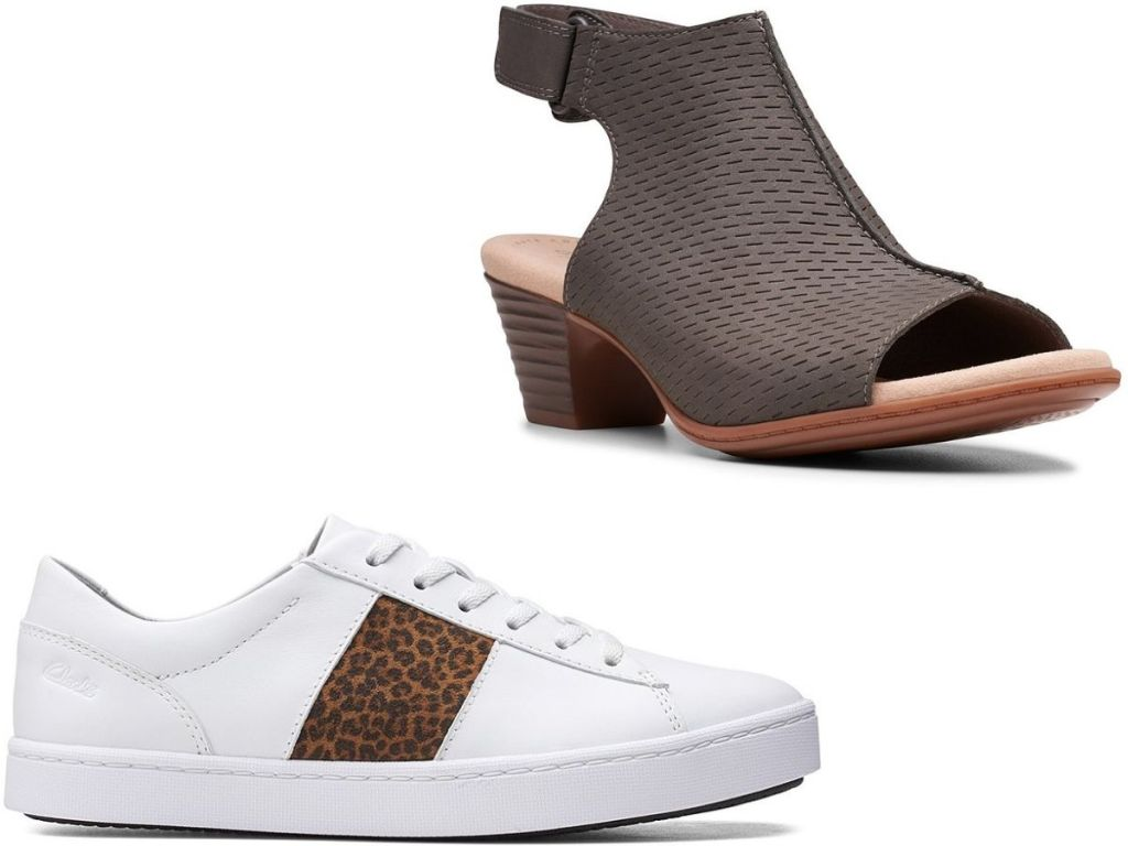 two Clarks womens shoes