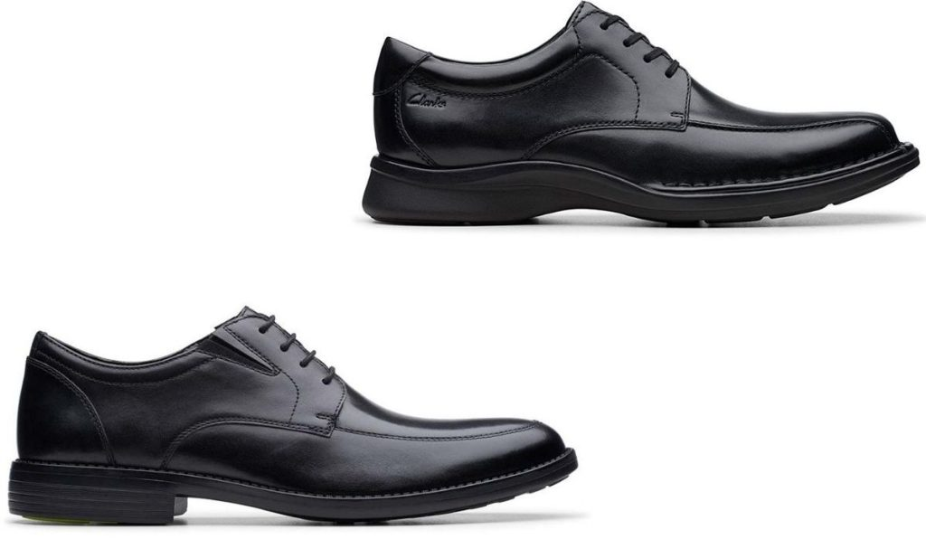 two clarks mens shoes