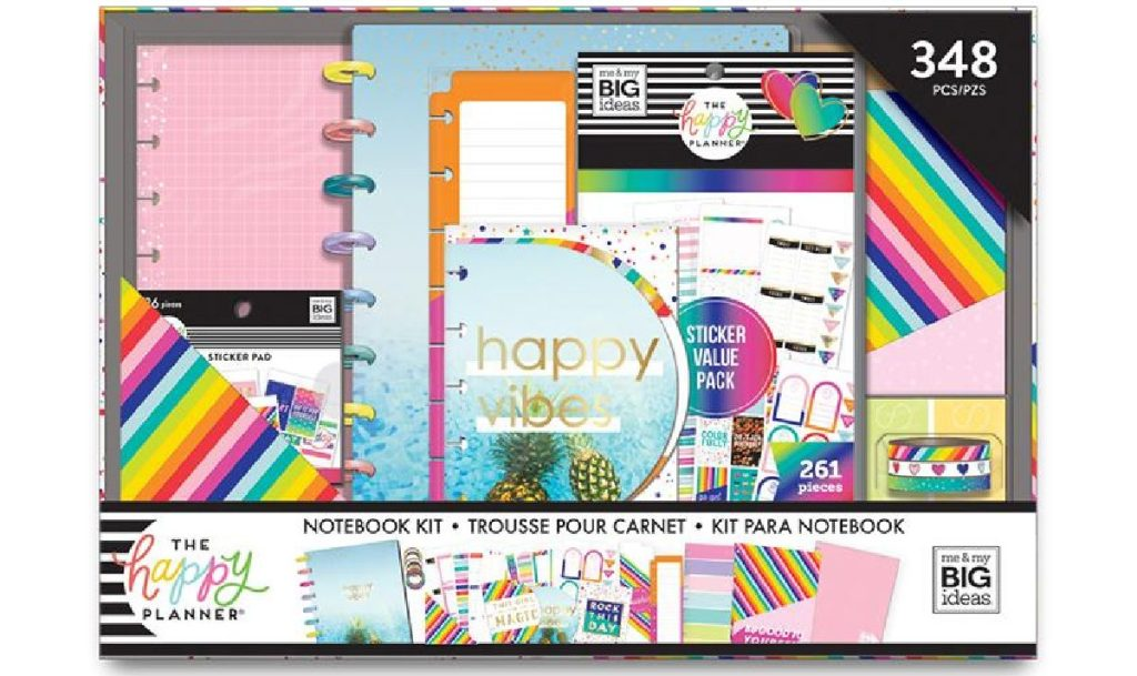 notebook and planner kit