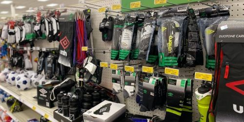 Soccer Gear Clearance from $2 at Target | Umbro, Franklin, & More