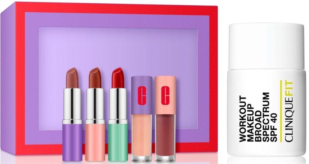 Clinique Lipstick Set and Fitmakeup Foundation